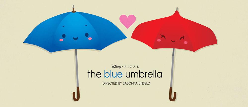 皮克斯动画短片《蓝雨伞之恋》